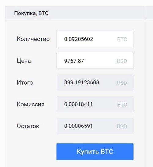 Купить Биткоин на криптовалютной бирже