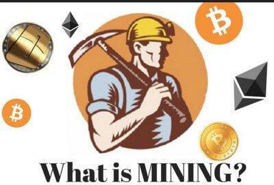 Майнинг — добыча новых монет криптовалюты